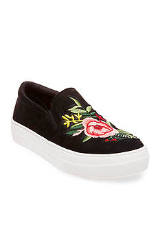 Steve Madden Garden Embroidered Slip On Sneakers