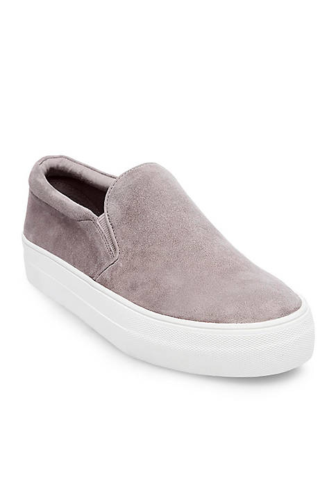 Suede Thick Bottom Sneakers