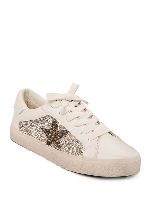 Philip-R Rhinestone Sneakers