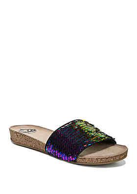 099e35184ed FERGALICIOUS by FERGIE Miranda Sequin Sandals ...
