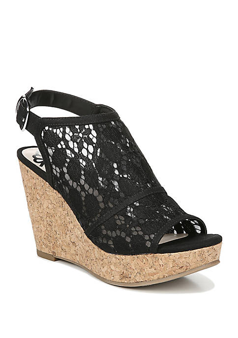 FERGALICIOUS by FERGIE Karma Wedge Sandals