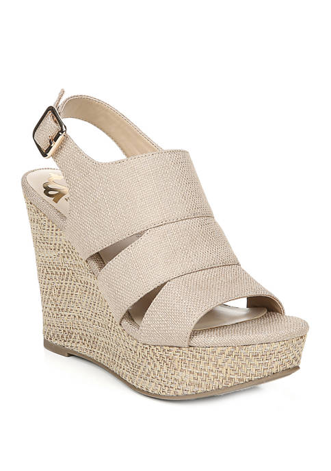 FERGALICIOUS by FERGIE Valentina Strappy Wedge Sandals