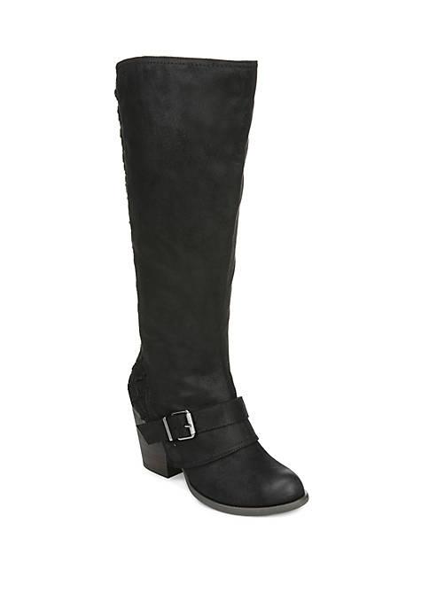 Larissa High Shaft Wide Calf Boots