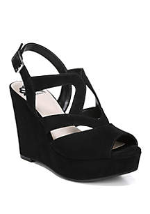 Marcy Peep Toe Heel