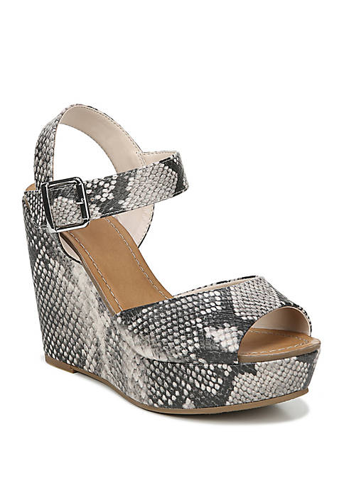 FERGALICIOUS by FERGIE Viola Buckle Wedge Sandals