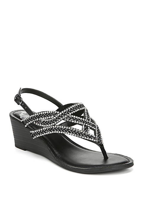FERGALICIOUS by FERGIE Crush 2 Woven Wedge Sandals
