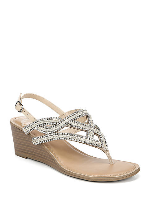 Crush 2 Woven Wedge Sandals