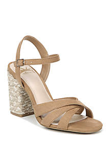 Fiance Wrapped Block Heel Sandals