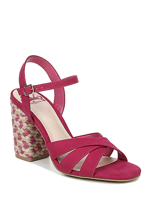 FERGALICIOUS by FERGIE Fiance Wrapped Block Heel Sandals
