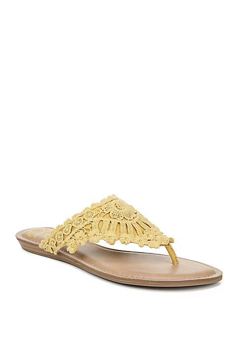Samba Crochet Woven Sandals