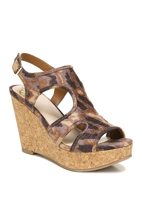 FERGALICIOUS by FERGIE Kenzie Wedge Sandals