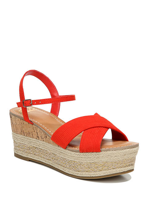 FERGALICIOUS by FERGIE Pardy Wedge Sandals