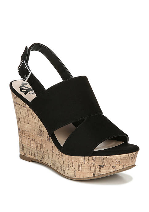 Valencia Wedge Sandals