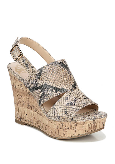 Valencia Wedge Sandals
