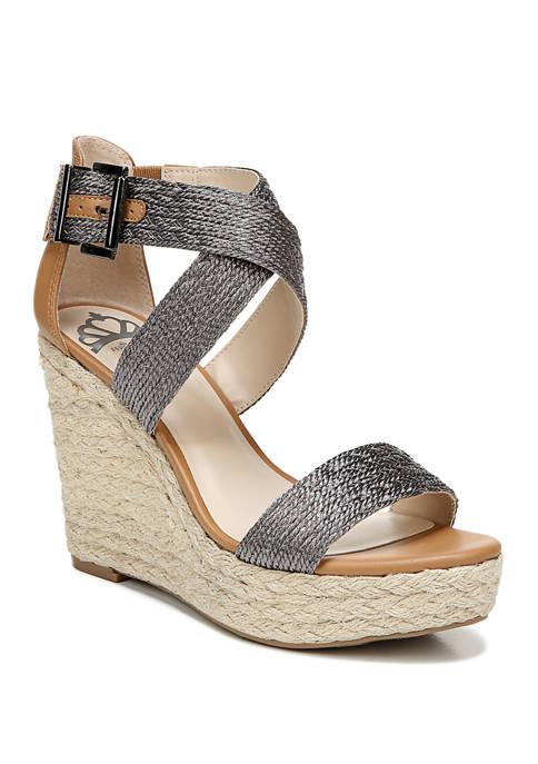 Maxi Espadrille Wedge Sandals