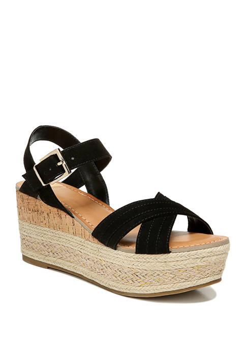 FERGALICIOUS by FERGIE Pounce Wedge Sandals