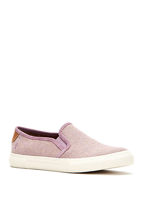 Frye Gia Canvas Slip Ons