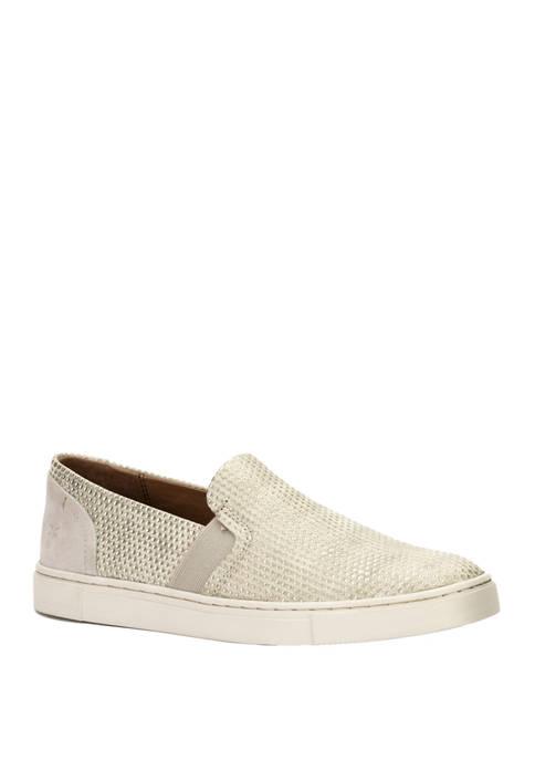 Frye Ivy Diamond Emboss Slip On Sneakers