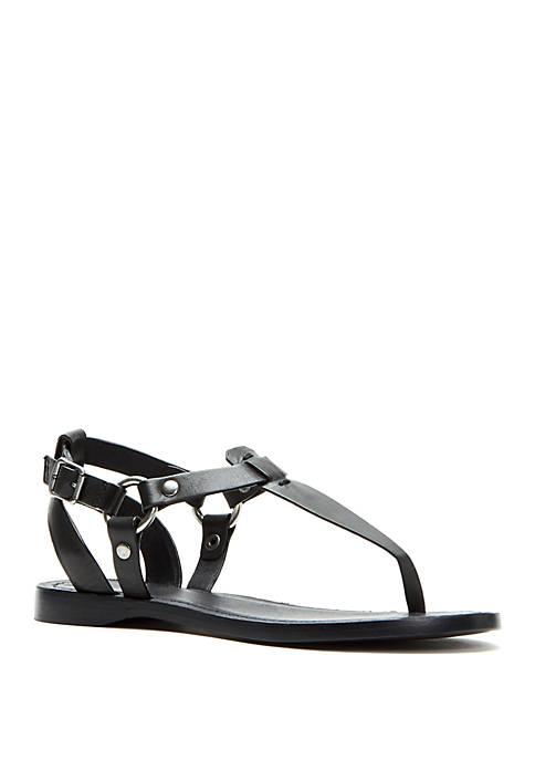 Frye Rachel Ring T Strap Sandals