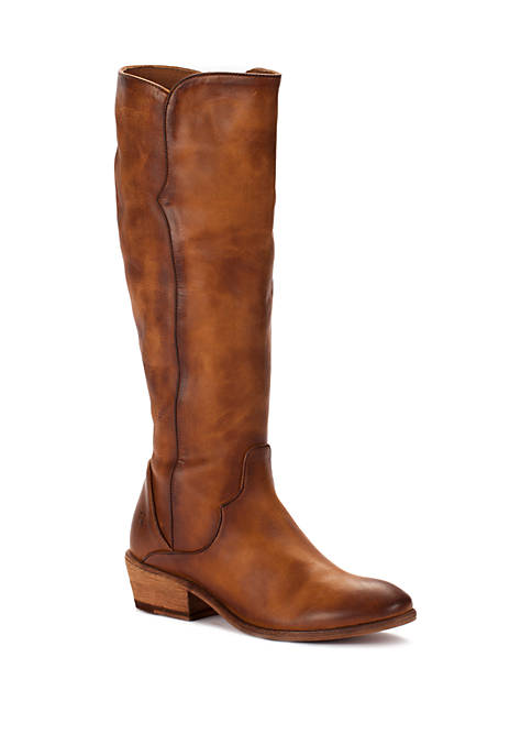 Carson Piping Tall Boots
