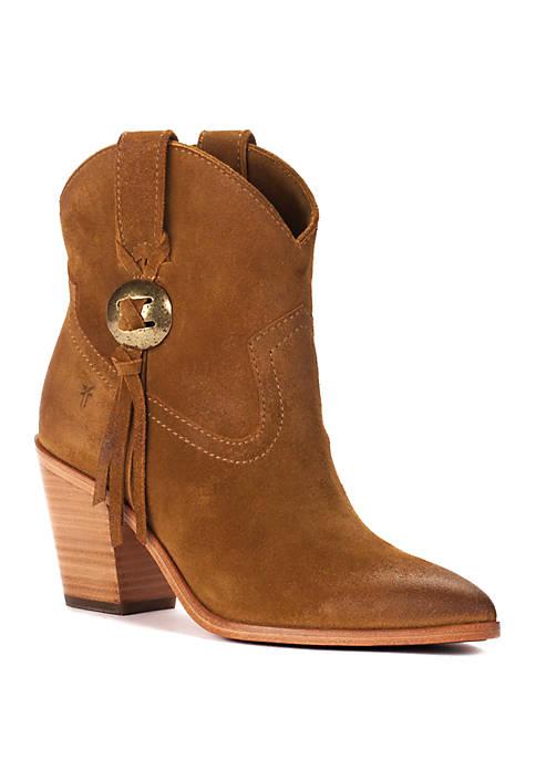 Frye Faye Concho Short Boots