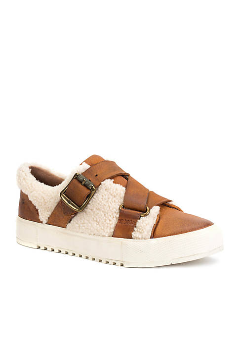 Frye Gia Moto Low Top Sneakers