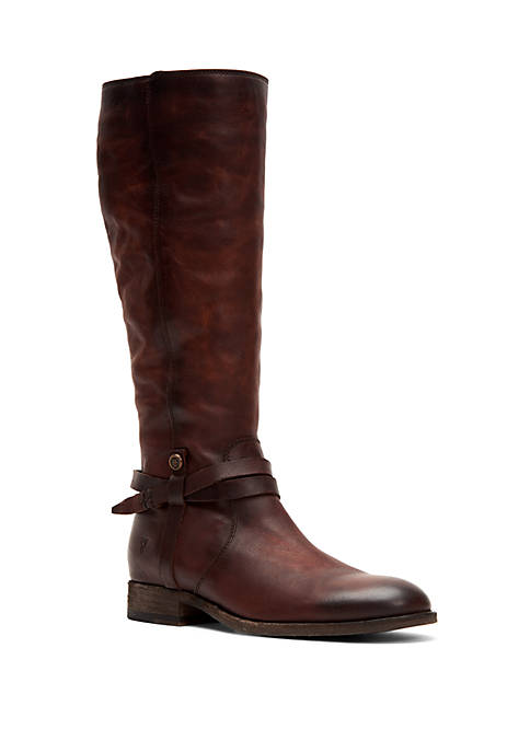 Frye Melissa Belted Tall Boot