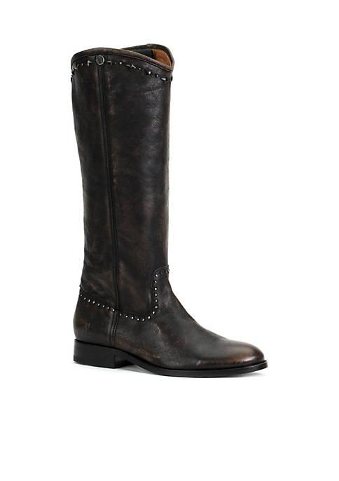 Frye Melissa Button Multi Stud Boots