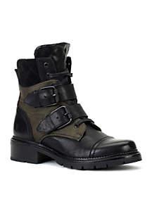 Samantha Belted Hiker Boots