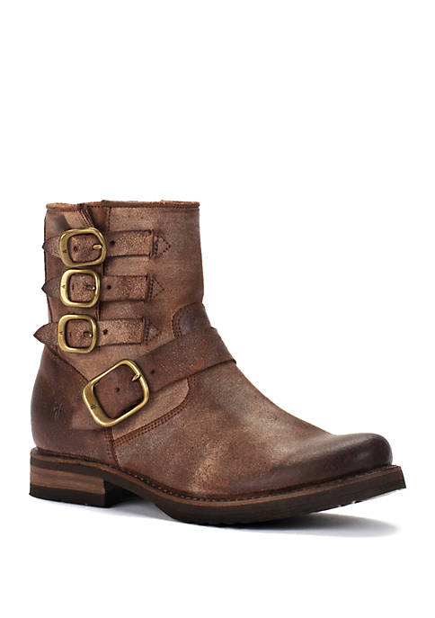 Frye Veronica Belted Short Boots