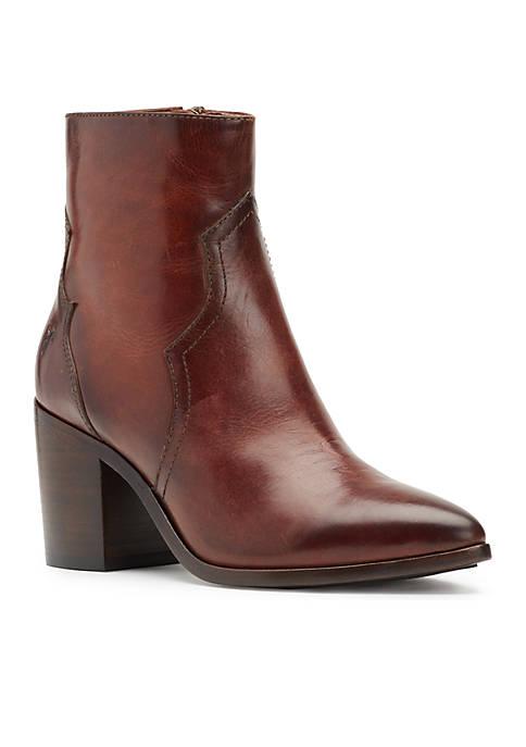Frye Flynn Short Inside Zip Boots