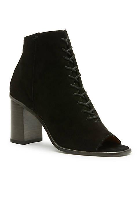 Frye Amy Peep Toe Lace Boot