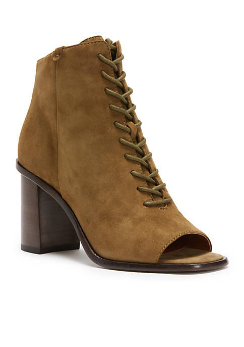 Frye Amy Peep Toe Lace Boot