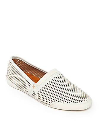 Melanie Perforated Slip-On Sneakers Omj5FN