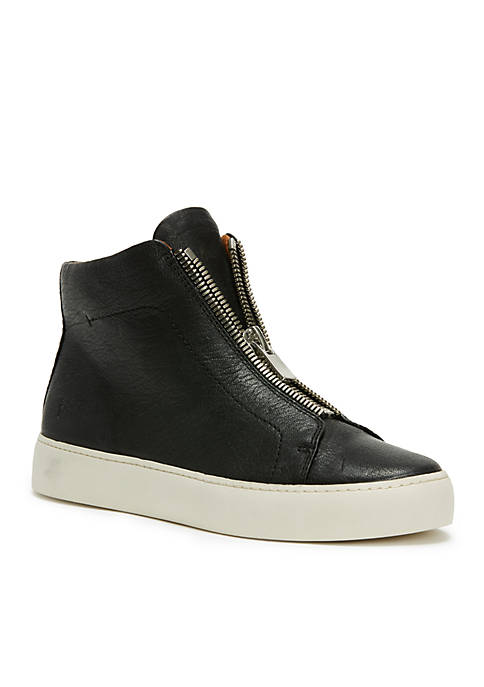 Frye Lena Zipper High Sneaker
