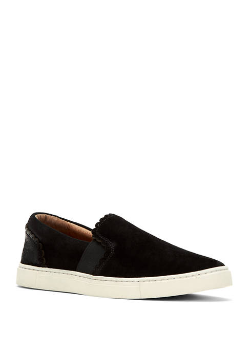 Frye Ivy Scallop Slip On Sneakers