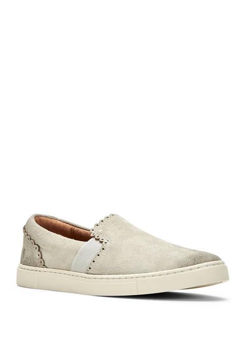 Frye Ivy Scallop Slip On Sneakers