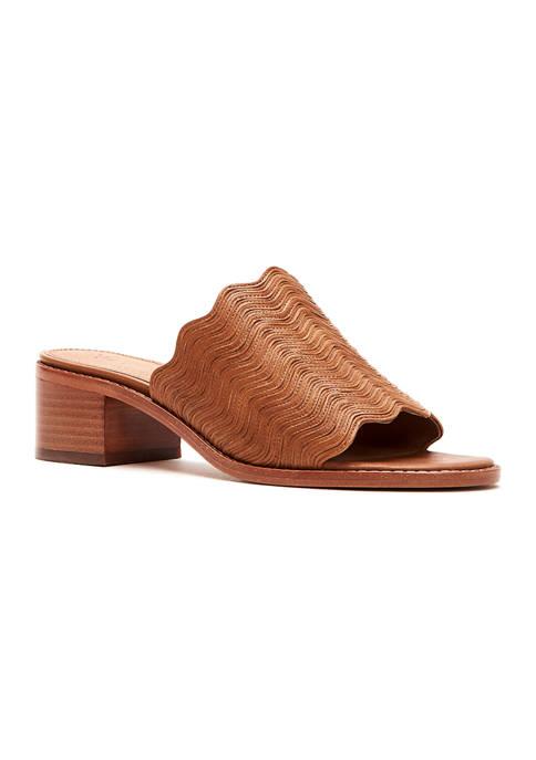 Frye Cindy Wave Mule Sandals