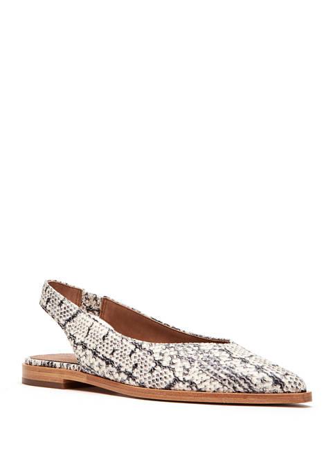 Frye Kenzie Slingback Flat Shoes