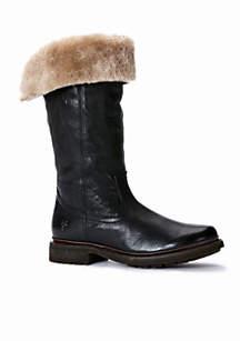 Frye Valerie Shearling Pull On Boot