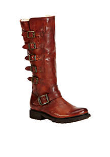 Valerie Belted Tall Boot