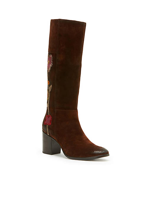 Frye NOVA FLOWER TALL BOOT