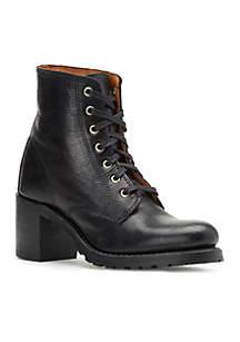 Frye Sabrina Lace Up Boots