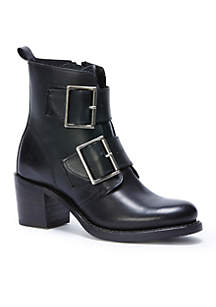 Sabrina Double Buckle Bootie