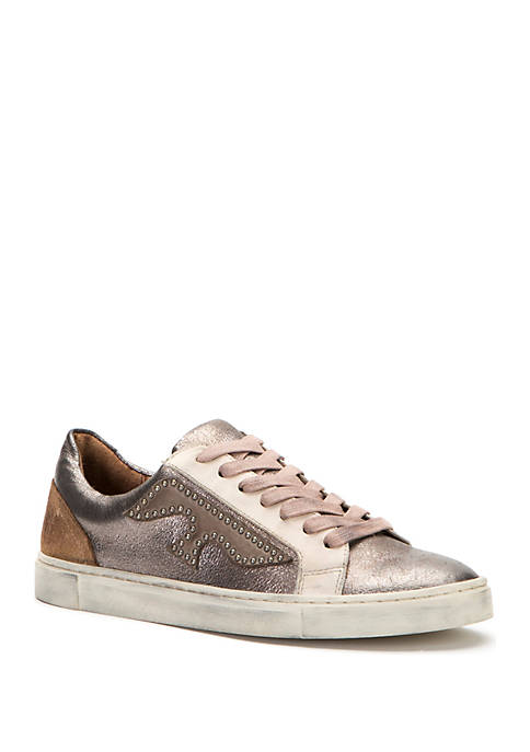 Frye Ivy Logo Patch Sneakers