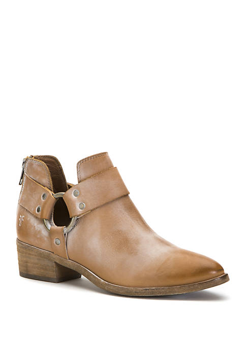 Frye Ray Harness Back Zip Boots