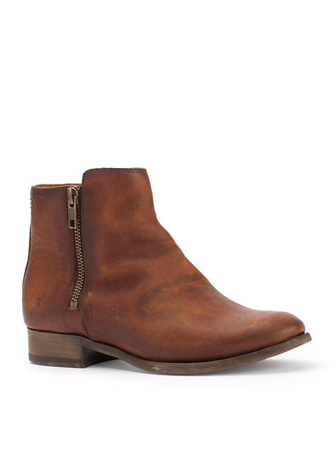 Frye Carly Double Zip Bootie