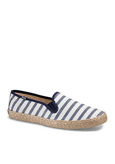 Keds Breton Striped Jute Shoe - Available in Extended Sizes