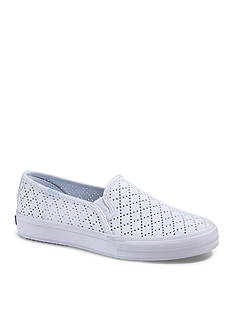 Keds Double Decker Perforated Shoe - Available in Extended Sizes