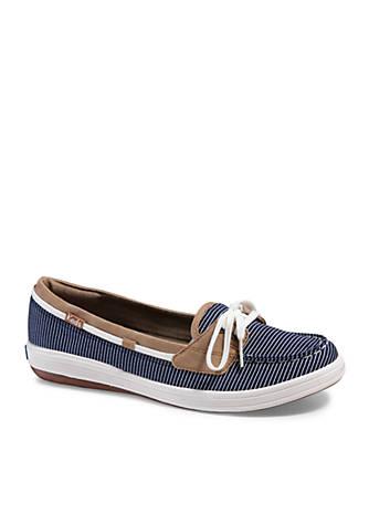 Keds Glimmer Nautical Stripe Boat Shoe HXLL0S1xvm